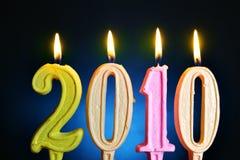 Neues Jahr 2010 Stockfotos