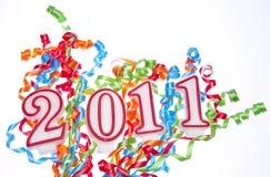 Neues Jahr 2011 Stockfoto