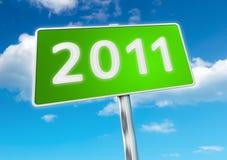 Neues Jahr 2011 Lizenzfreies Stockbild