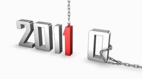 Neues Jahr 2011 Lizenzfreie Stockfotos
