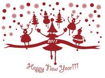 Neues Jahr 2011 Stockbild