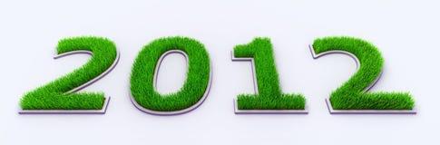 Neues Jahr 2012 Lizenzfreie Stockfotografie