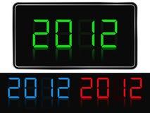 Neues Jahr 2012 lizenzfreie abbildung