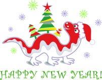Neues Jahr 2012 des Drachen Stockbilder
