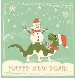 Neues Jahr 2012 des Drachen stock abbildung
