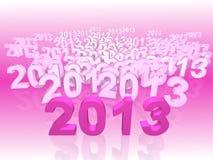 Neues Jahr 2013 Lizenzfreies Stockfoto