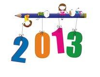 Neues Jahr 2013 vektor abbildung