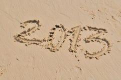 Neues Jahr 2013 Stockfoto