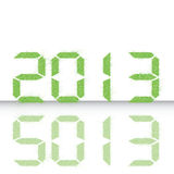 Neues Jahr 2013. Stockbilder