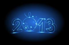 Neues Jahr 2013 Stockfotos