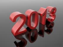 Neues Jahr 2013 in den Zahlen Lizenzfreie Stockbilder