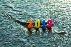 Neues Jahr 2013 und Weihnachten. Stockfotografie