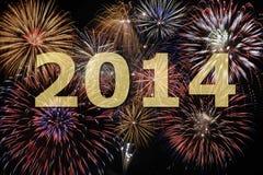 Neues Jahr 2014 Lizenzfreie Stockfotos