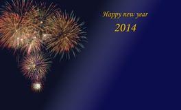 Neues Jahr 2014 Stockfoto