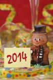 Neues Jahr 2014 Stockfotos