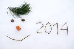 Neues Jahr 2014 Stockfotografie