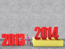Neues Jahr Stockbild