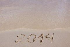 Neues Jahr 2014. Lizenzfreies Stockbild