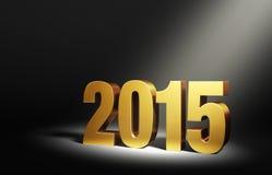Neues Jahr 2015 Stockbild