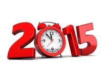 2015 neues Jahr Stockfoto