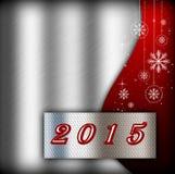 Neues Jahr 2015 Lizenzfreies Stockfoto