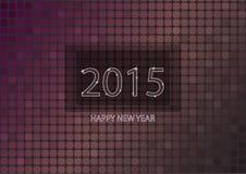 Neues Jahr 2015 Stock Abbildung