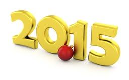 2015 neues Jahr Lizenzfreie Stockbilder