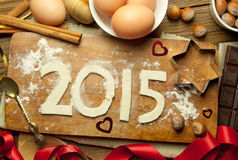 Neues Jahr 2015 Lizenzfreie Stockbilder