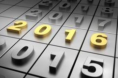 Neues Jahr 2016 Stockbilder