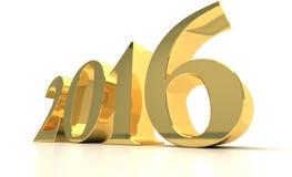 Neues Jahr 2016 Lizenzfreies Stockfoto