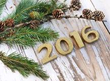 Neues Jahr 2016 Lizenzfreie Stockfotos