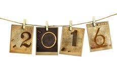 Neues Jahr 2016 Lizenzfreie Stockfotografie