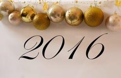 2016 neues Jahr Stockfoto