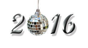 2016, neues Jahr Stockfotografie