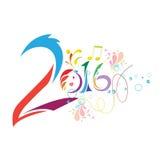 2016 neues Jahr Stockfotografie