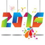 2016 neues Jahr Stockbilder