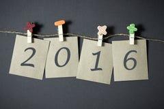 Neues Jahr 2016 Lizenzfreie Stockbilder