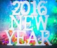 2016 neues Jahr Lizenzfreies Stockfoto
