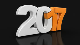 Neues Jahr 2017 Lizenzfreies Stockbild
