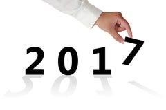Neues Jahr 2017 Stockfotos