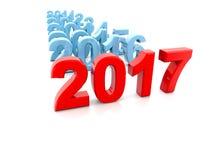 Neues Jahr 2017 Stockbilder