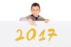 Neues Jahr 2017 Lizenzfreies Stockfoto