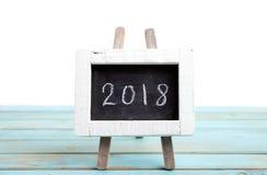 Neues Jahr 2018 Stockfoto