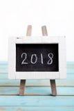 Neues Jahr 2018 Stockbild
