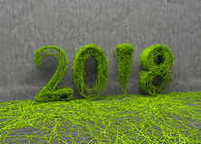 Neues Jahr 2018 Lizenzfreie Stockfotografie