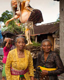 Neues Jahr auf Bali, Indonesien Stockfotos
