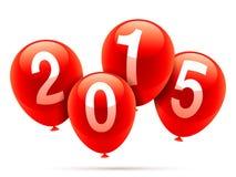 Neues Jahr baloons Lizenzfreie Stockfotografie