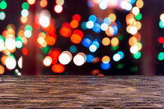 Neues Jahr Bokeh ` s Nacht Stockfotos