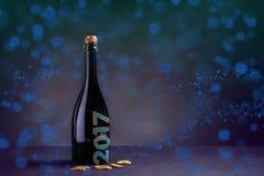 Neues Jahr Champagne Lizenzfreies Stockbild