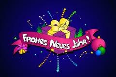 Neues Jahr de Frohes Fond créateur de vecteur Bonne année dedans illustration de vecteur